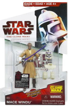Clone Wars 2008 - Red Card - Mace Windu