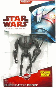 Clone Wars 2008 - Red Card - Heavy Assault Super Battle Droid
