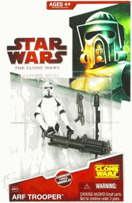 Clone Wars 2008 - Red Card - ARF Trooper