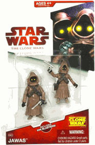 Clone Wars 2008 - Red Card - Jawa 2-Pack