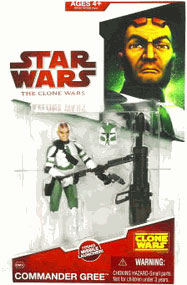 Clone Wars 2008 - Red Card - Commander Gree