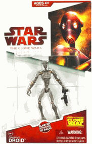 Clone Wars 2008 - Red Card - Commando Droids