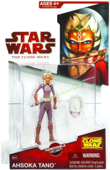 Clone Wars 2009 - Red Card - Ahsoka Tano with Space Suit