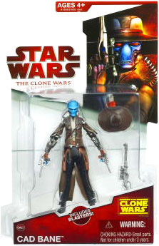 Clone Wars 2009 - Red Card - Cad Bane