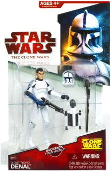 Clone Wars 2009 - Red Card - Clone Denal