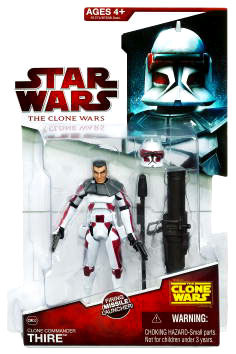 Clone Wars 2009 - Red Back Captain Thire