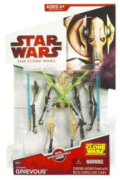 Clone Wars 2009 - Red Back  General Grievous