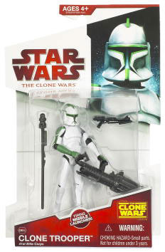 Clone Wars 2009 - Red Back  41st Elite Clone Trooper Green
