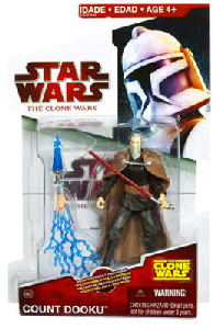 Clone Wars 2009 Red Back - Count Dooku