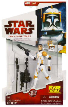 Clone Wars 2009 Red Back - Clone Commander Cody