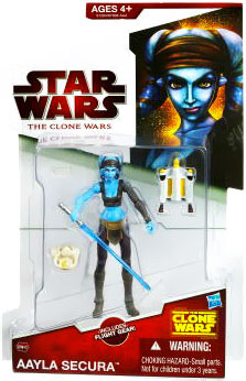 Clone Wars 2009 Red Back - Aayla Secura