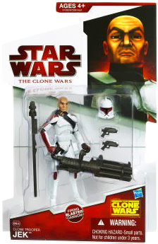 Clone Wars 2009 Red Back - Clone Trooper Jek