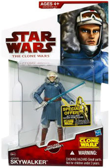 Clone Wars 2009 Red Back - Anakin Skywalker in Cold Weather Gear