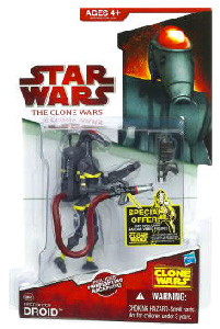 Clone Wars 2009 Red Back - Firefighter Droid - CW47