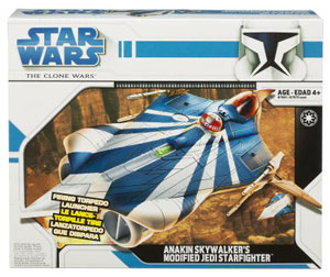 Clone Wars 2008 - Anakin Skywalker Modified Jedi Starfighter