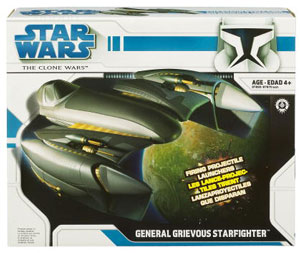 Clone Wars 2008 - General Grievous Starfighter