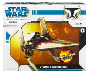 Clone Wars 2008 - V-Wing Starfighter