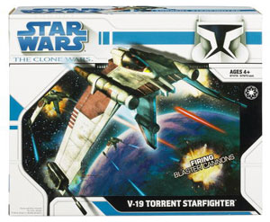Clone Wars 2008 - V-19 Torrent Starfighter