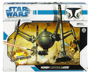 Clone Wars 2008 - Homing Spider Droid