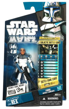 Star Wars Clone Wars 2010 - Black and Blue - Captain Rex