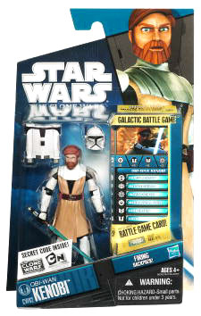 Star Wars Clone Wars 2010 - Black and Blue - Obi-Wan Kenobi