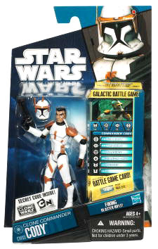 Star Wars Clone Wars 2010 - Black and Blue - Commander Cody