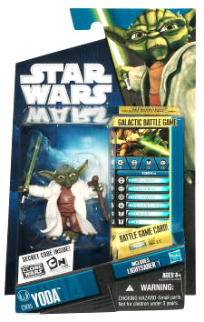 Star Wars Clone Wars 2010 - Black and Blue - Yoda