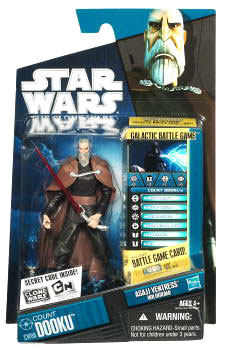 Star Wars Clone Wars 2010 - Black and Blue - Count Dooku CW06