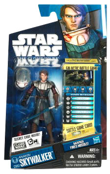 Star Wars Clone Wars 2010 - Black and Blue - Anakin Skywalker in Space Suit CW07