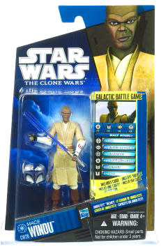 Star Wars Clone Wars 2010 - Black and Blue - Mace Windu