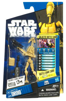 Star Wars Clone Wars 2010 - Black and Blue - Battle Droid
