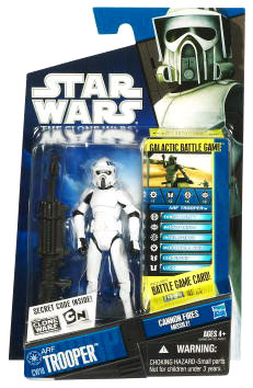 Star Wars Clone Wars 2010 - Black and Blue - ARF Trooper