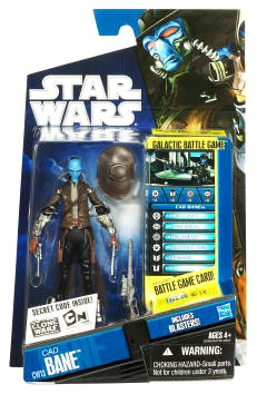 Star Wars Clone Wars 2010 - Black and Blue - Cad Bane