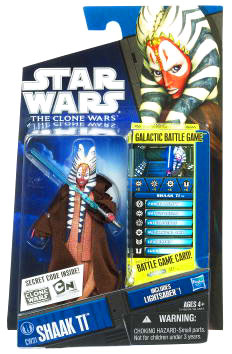 Star Wars Clone Wars 2010 - Black and Blue - Shaak Ti CW31