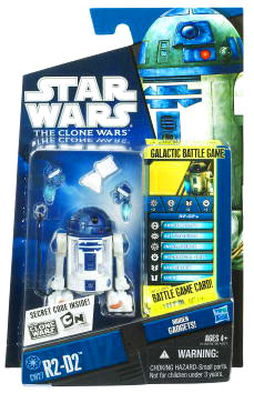 Star Wars Clone Wars 2010 - Black and Blue - R2-D2