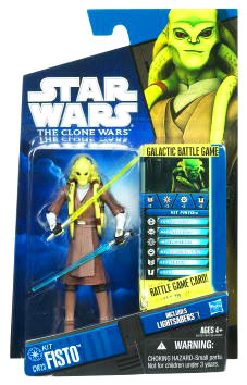 Star Wars Clone Wars 2010 - Black and Blue - Kit Fisto cw23