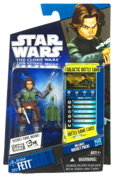 Star Wars Clone Wars 2010 - Black and Blue - Boba Fett