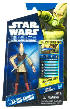 Star Wars Clone Wars 2010 - Black and Blue - Ki-Adi-Mundi