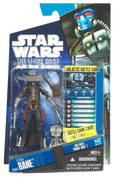 Star Wars Clone Wars 2010 - Black and Blue - Cad Bane and TODO-360 Droid