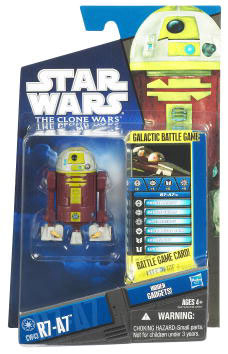 Star Wars Clone Wars 2010 - Black and Blue - R7-A7