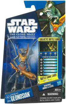 Star Wars Clone Wars 2010 - Black and Blue - Undead Geonosian