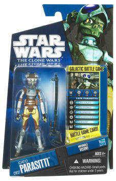 Star Wars Clone Wars 2010 - Black and Blue - Cato Parasitti CW37
