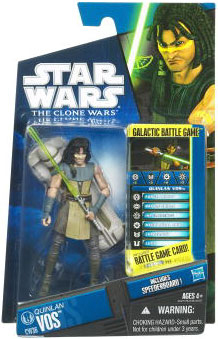 Star Wars Clone Wars 2010 - Black and Blue - Quinlan Vos