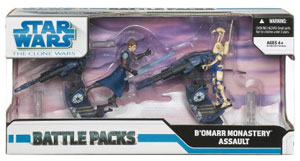 Battle Pack - Clone Wars: B Omarr Monastery Assault