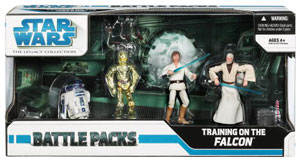 Battle Packs - Clone Wars: Training On The Falcon