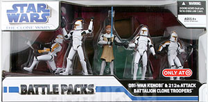 Battle Pack - OBI-WAN and 212th BATTALION Exclusive