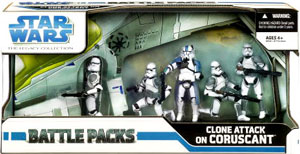 Battle Packs - Clone Attack On Coruscant
