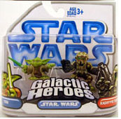Clone Wars Galactic Heroes - Yoda and Kashyyyk Scout Trooper