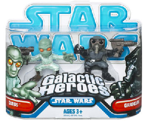 Galactic Heroes - Duros and Garindan BLUE