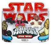 Galactic Heroes - Admiral Ackbar and Nien Nunb RED